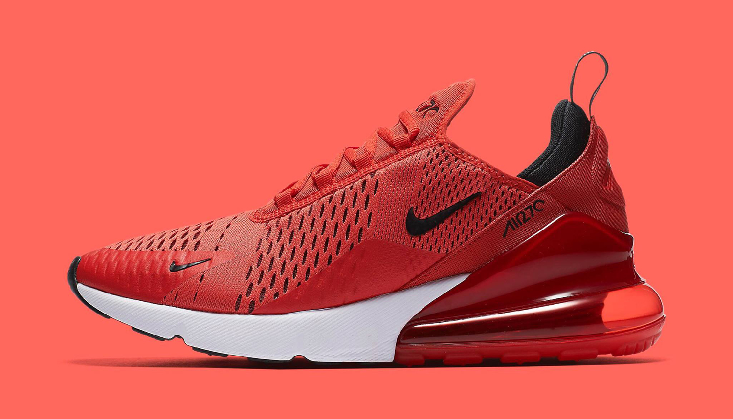 7c9b571bf2bd1b Nike Air Max 270 Habanero Red Available Now
