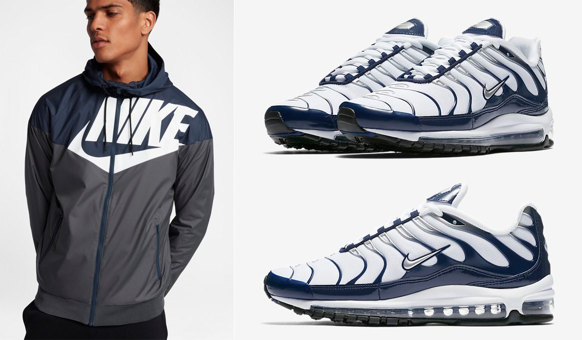 Nike Air Max 97 Plus Midnight Navy Jacket Match