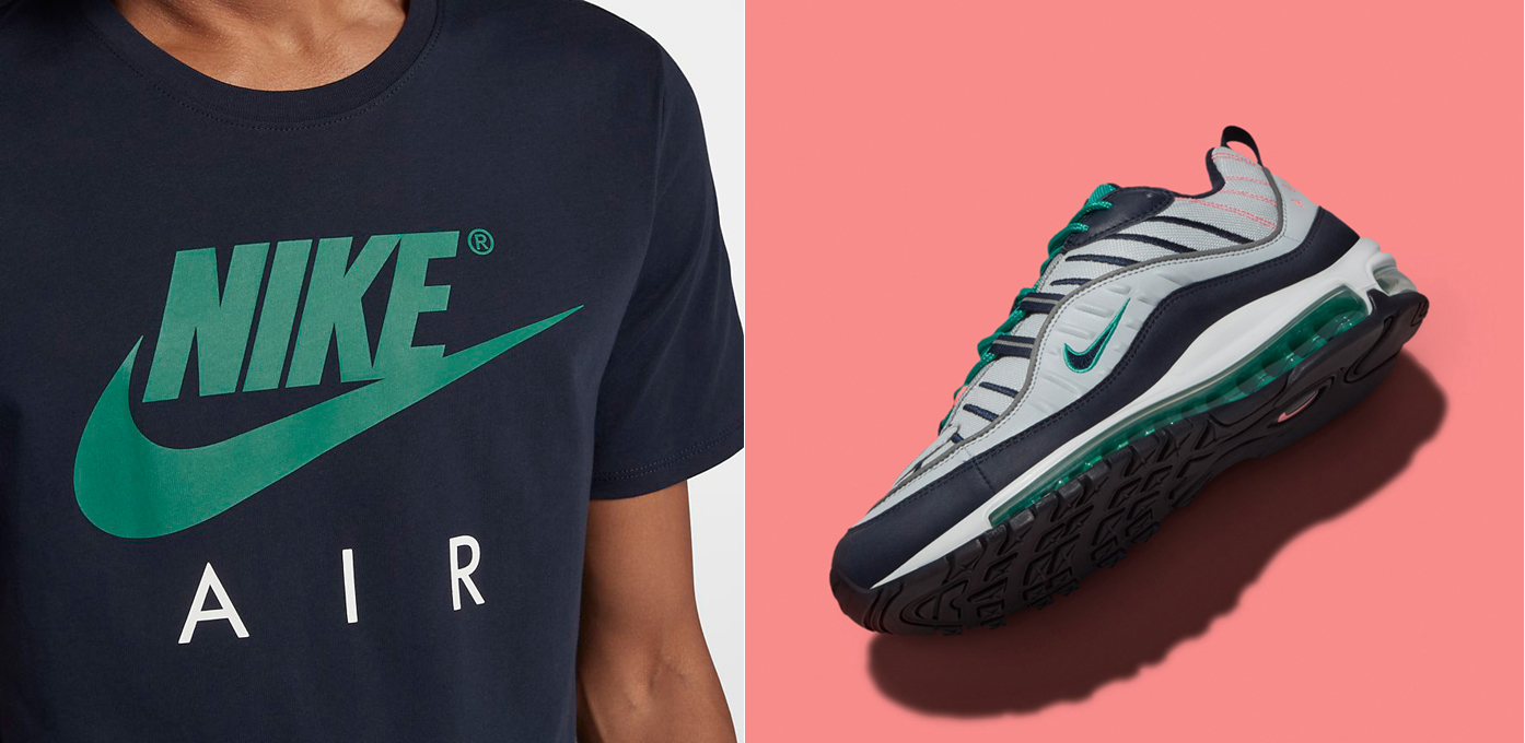 Nike Air Max 98 South Beach Shirt Match |