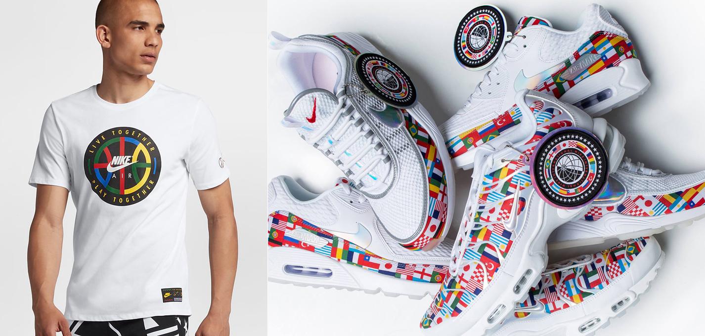 magasin en ligne baead 65103 Nike Flag Pack Sneaker Shirt Match | SneakerFits.com