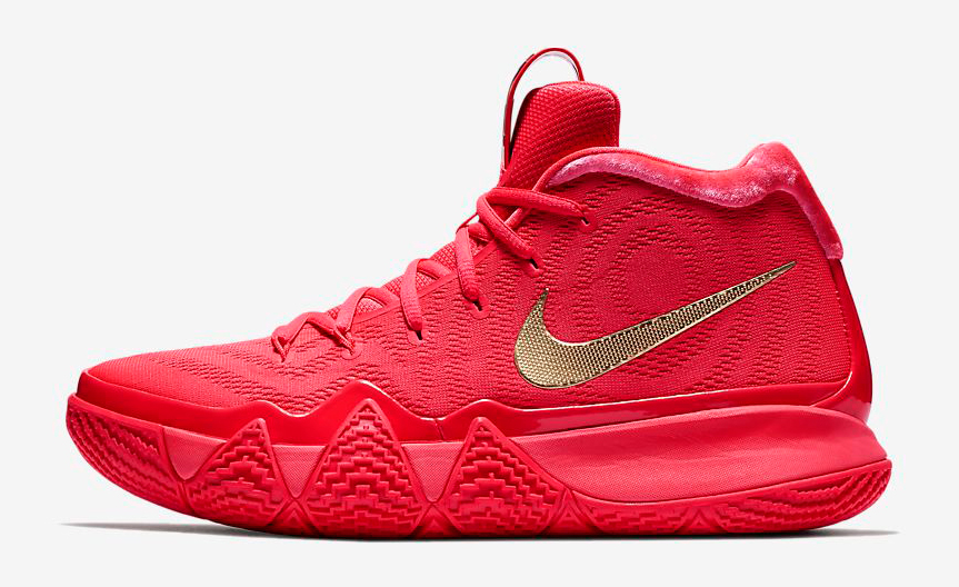 Nike Kyrie 4 Red Carpet Shirts to Match  0e58b610b