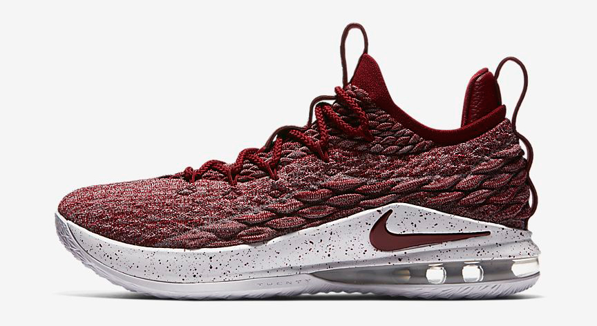 nike-lebron-15-low-taupe-grey-team-red-release-date