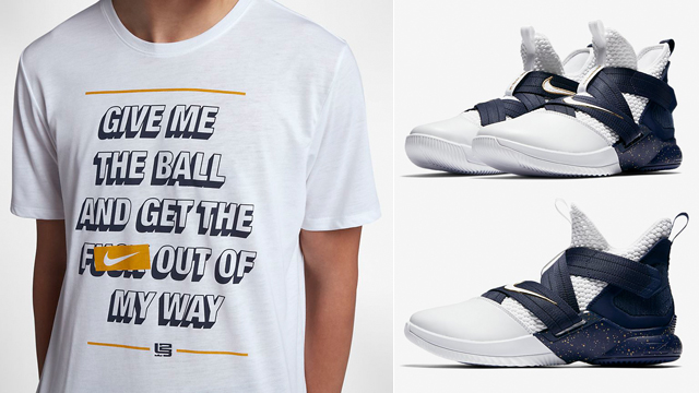 "623986fdf8c Nike Basketball Clothing and Gear to Match the Nike LeBron Soldier 12 SFG  ""Witness"""