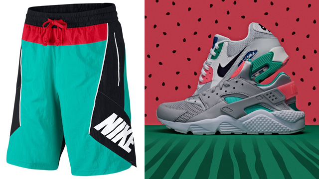 nike-throwback-watermelon-short-match