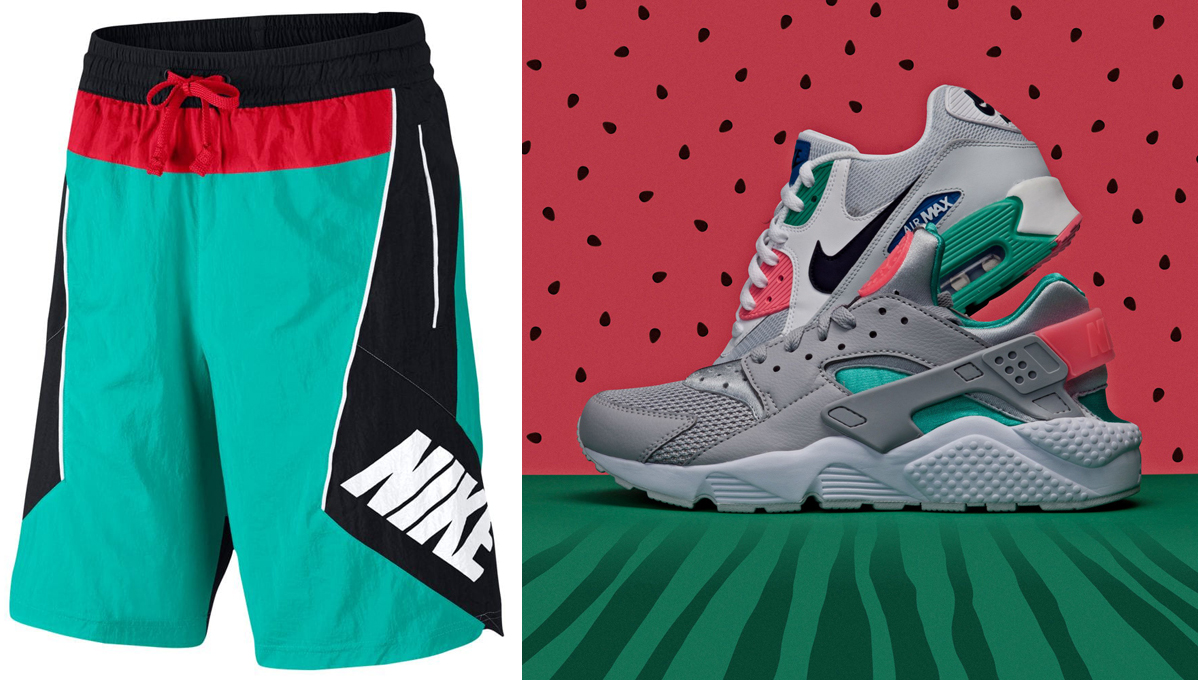 nike-throwback-watermelon-shorts-match
