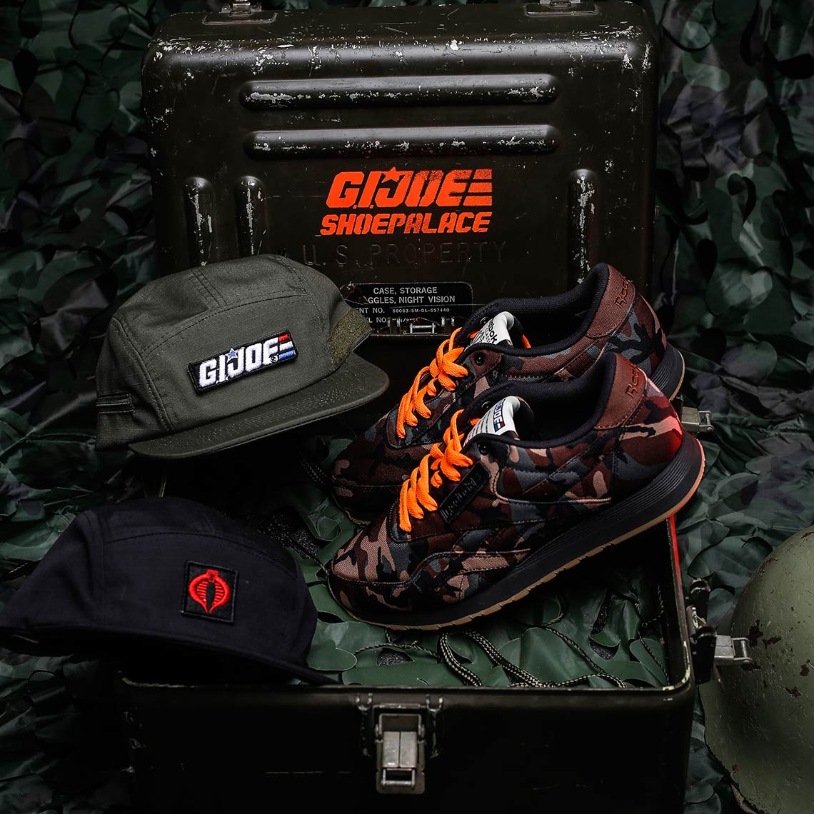 8cd9a67c151 Shoe Palace Reebok GI Joe Shoe and Hats
