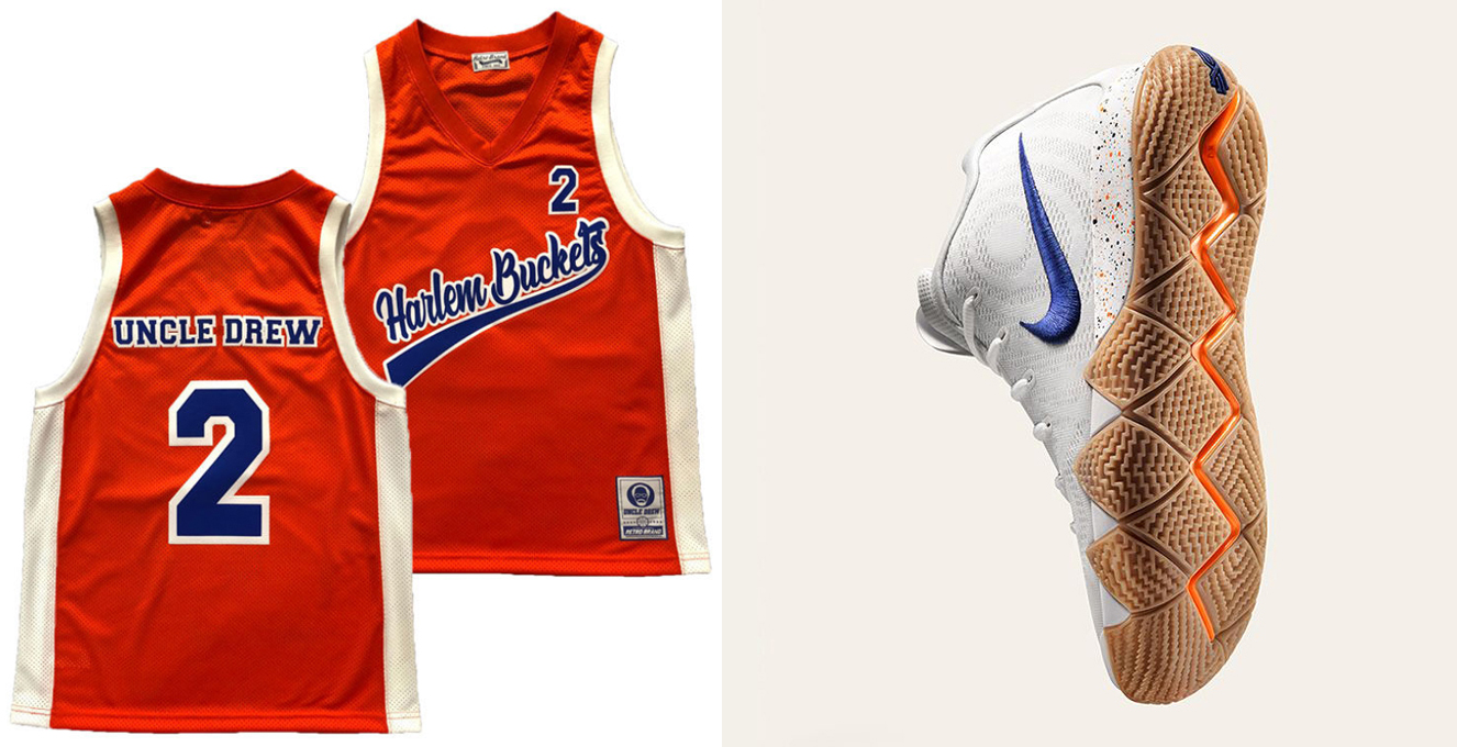 best loved 264ae 6bb66 Uncle Drew Basketball Jerseys to Match Kyrie 4 | SneakerFits.com