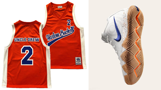 """cd6f74a6d76d Uncle Drew Retro Brand Basketball Jerseys to Match the Nike Kyrie 4 """"Uncle  Drew"""""""