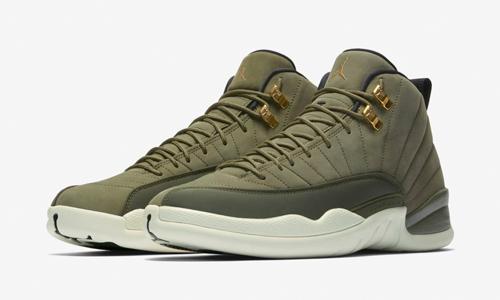 air-jordan-12-chris-paul-olive-clothing-to-match