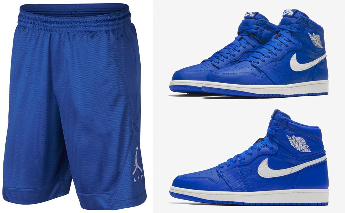 "6d92a1963e7 Jordan Brand Hyper Royal Basketball Shorts to Match the Air Jordan 1 ""Hyper  Royal"""