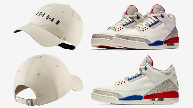 "1eb8d16115bf Air Jordan 3 ""International Flight"" x Jordan Heritage 86 Jumpman Air  Strapback Hat"