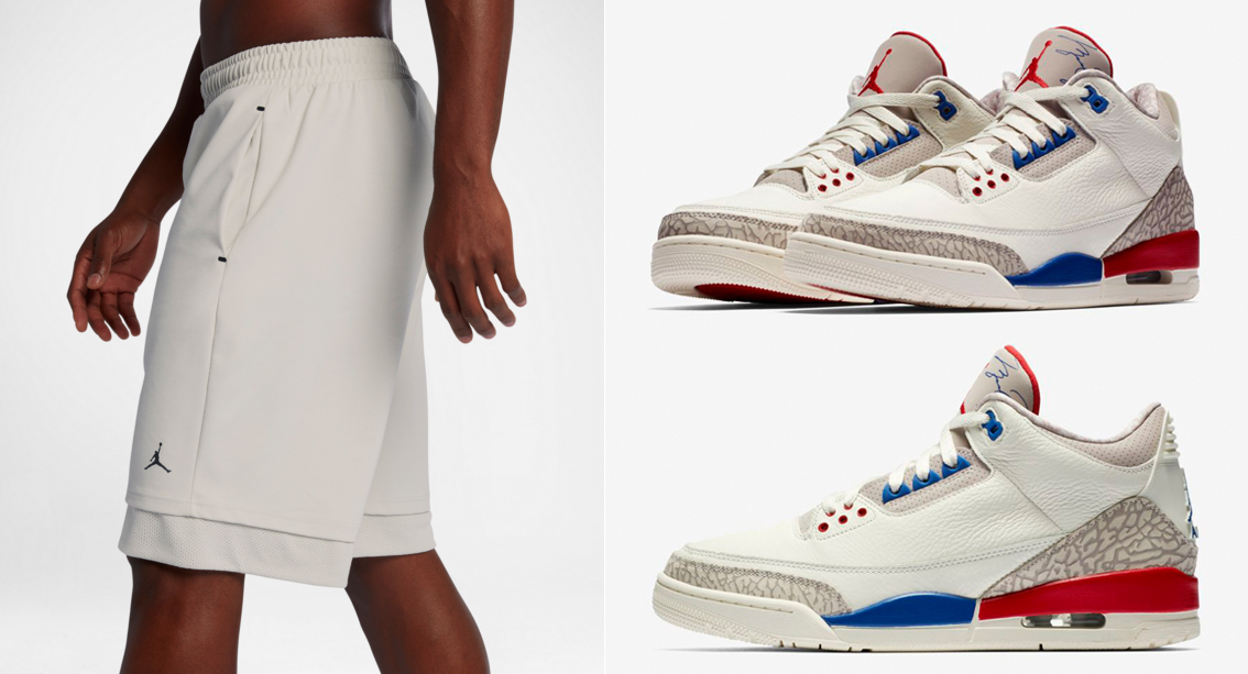 hot sale online fdbe1 0d5eb Air Jordan 3 International Flight Shorts | SneakerFits.com