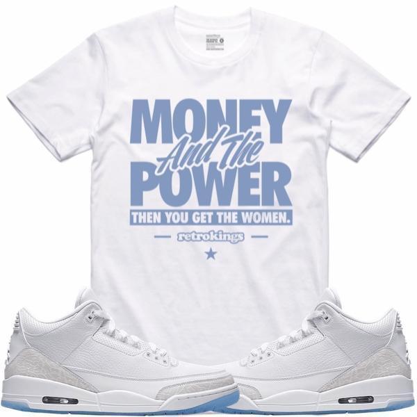 jordan-3-pure-white-money-sneaker-tee-shirt-retro-kings-2