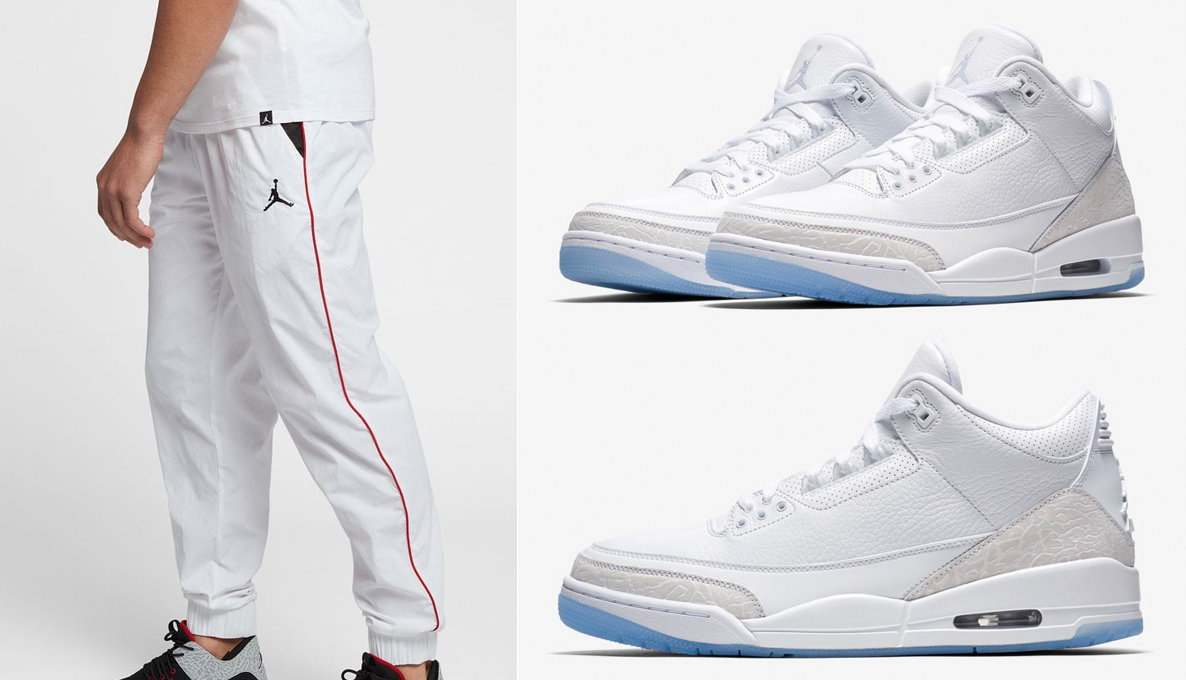 jordan-3-triple-pure-white-pants-match