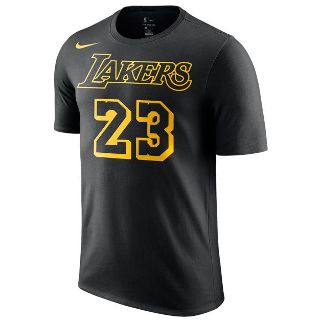 buy popular 24a5f be3eb LeBron James LA Lakers Nike Clothing | SneakerFits.com