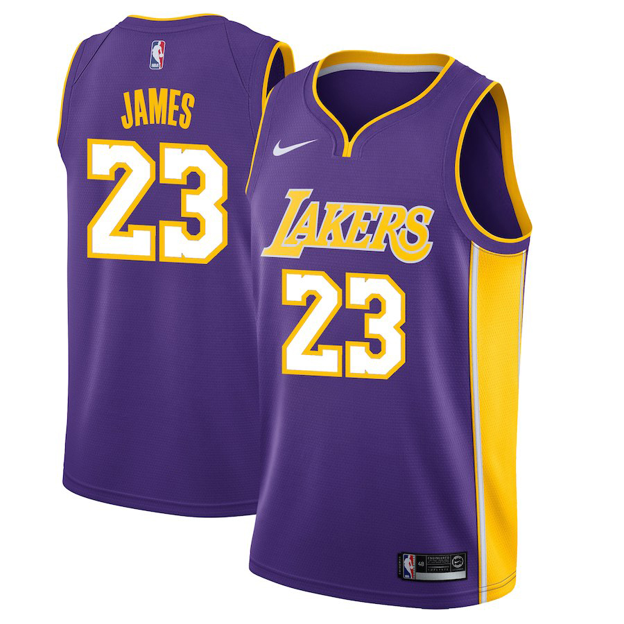info for 3d18b 1b921 LeBron Lakers Nike Swingman Jersey | SneakerFits.com