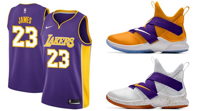 info for d99df 1d480 LeBron Lakers Nike Swingman Jersey | SneakerFits.com