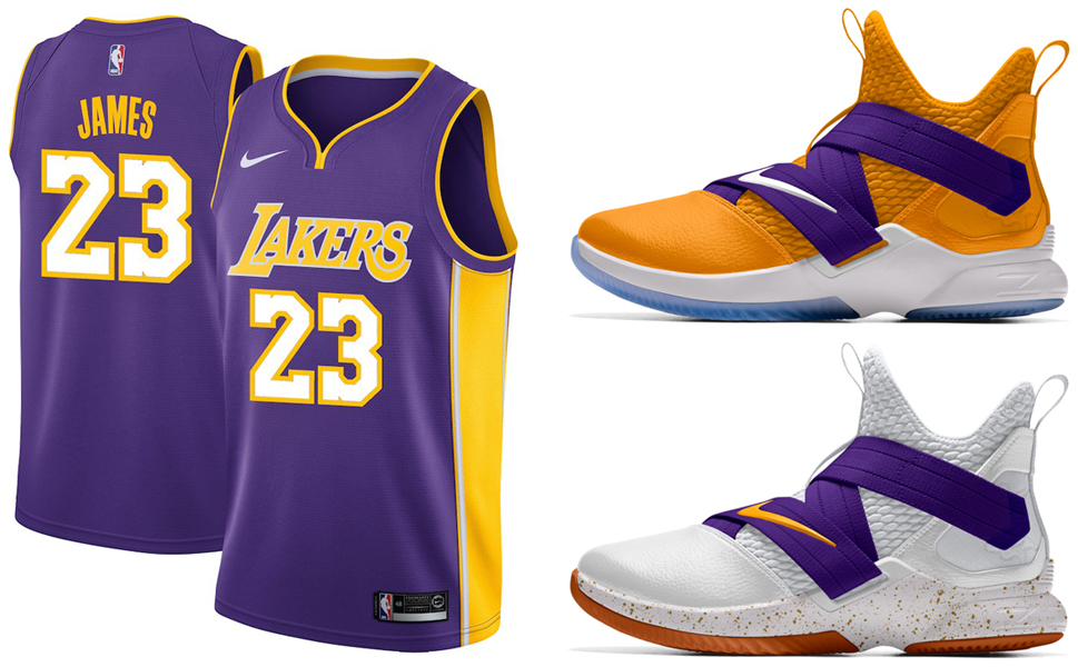info for 8640d 66780 LeBron Lakers Nike Swingman Jersey | SneakerFits.com