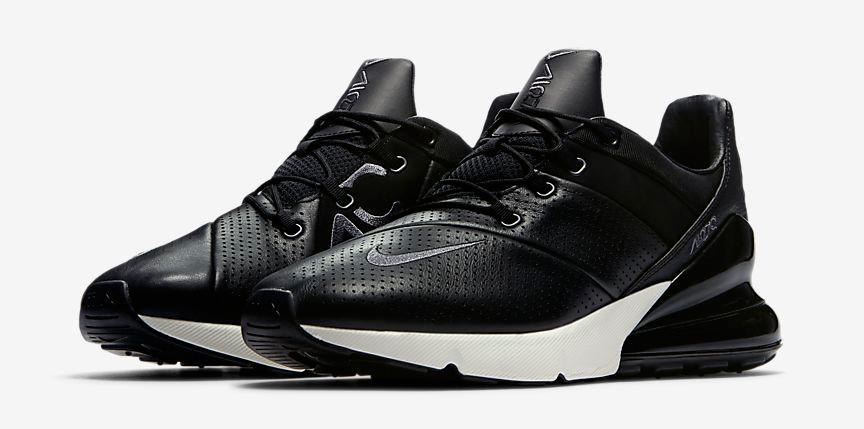 """658e3d522213 Nike Air Max 270 Premium """"Black Sail"""""""