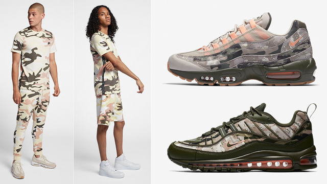 pretty nice 8b38b 9889a Nike Air Max Camo Classic Collection