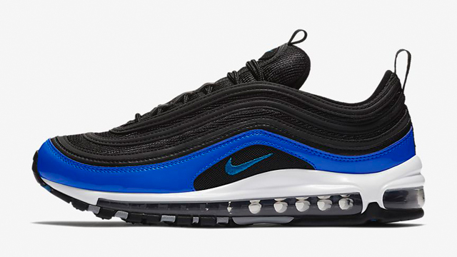 The Nike Air Max 97 continues to see several solid color schemes surface  for summer and one of the latest to land at Champs Sports is this Black ce30f7765d