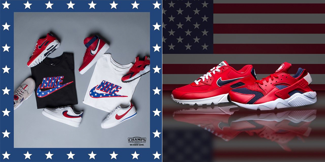Nike July 4th USA Sneakers Jacket Match |
