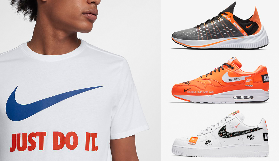 nike sportswear just do it swoosh t shirts sneakerfitscom