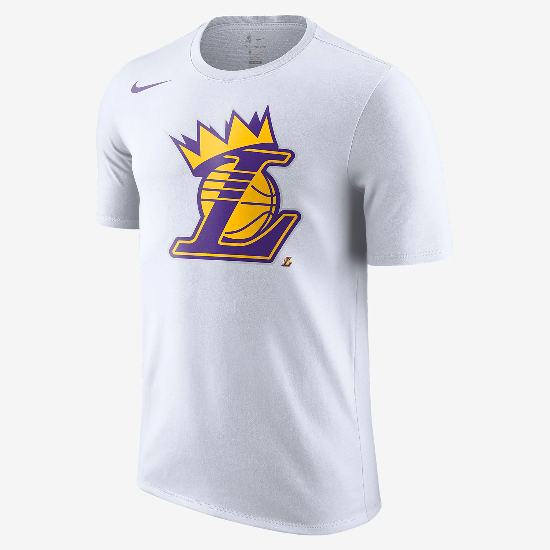 wholesale dealer e049a 0739c LeBron LA Lakers Nike Crown T Shirt | SneakerFits.com