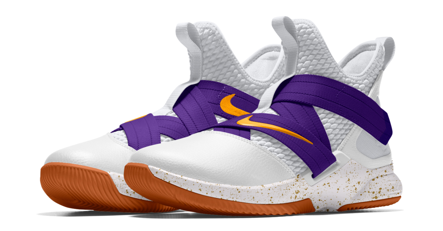 competitive price 6908d 939da LeBron James LA Lakers Nike Shirt and Shoe | SneakerFits.com