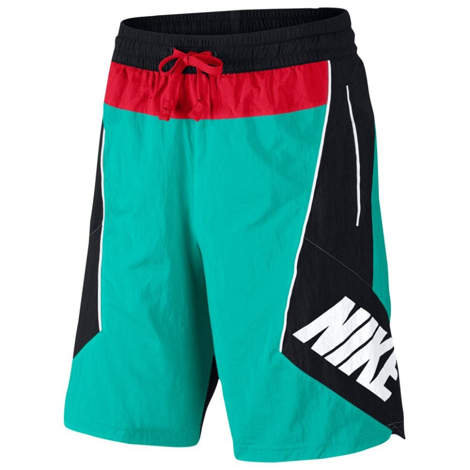 nike-throwback-basketball-shorts-green-black-red