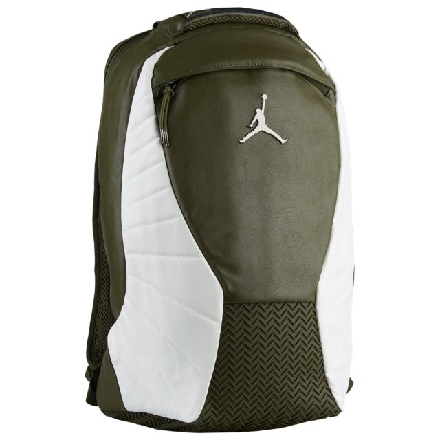 on sale 613ec e0813 Air Jordan 12 Chris Paul Olive Backpack | SneakerFits.com