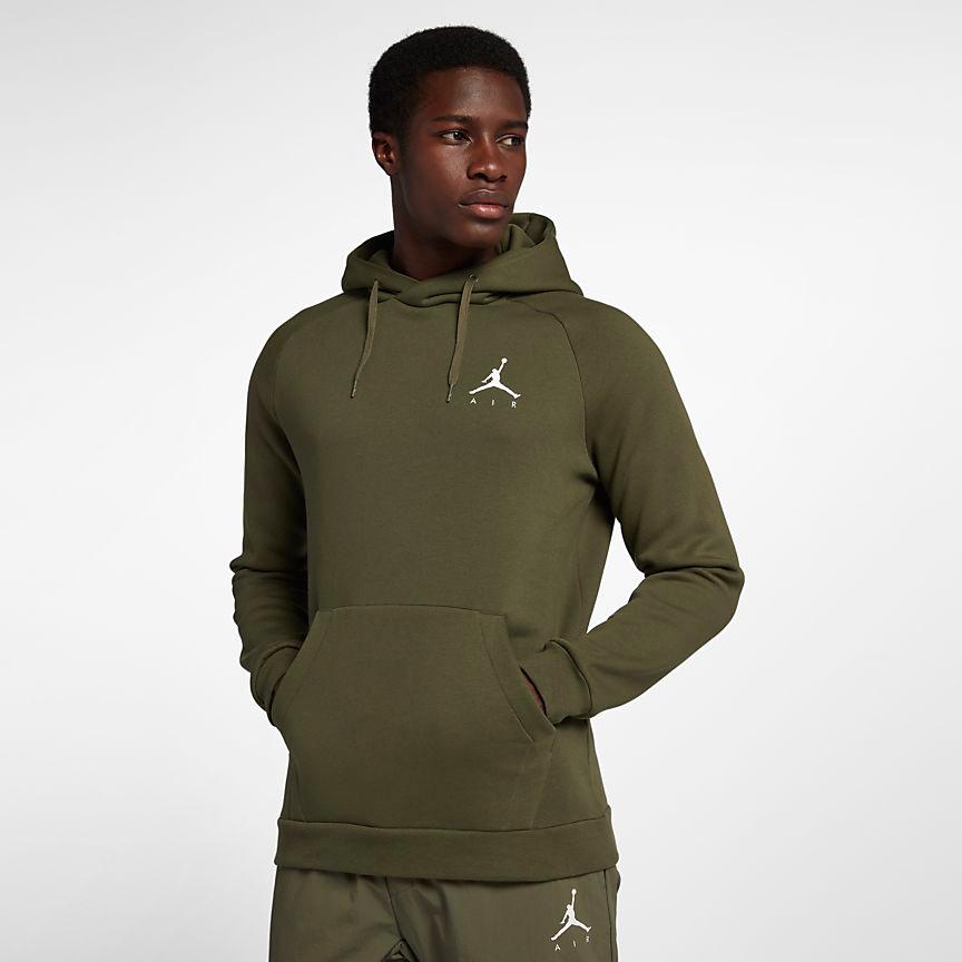 air-jordan-12-olive-chris-paul-hoodie-match-2