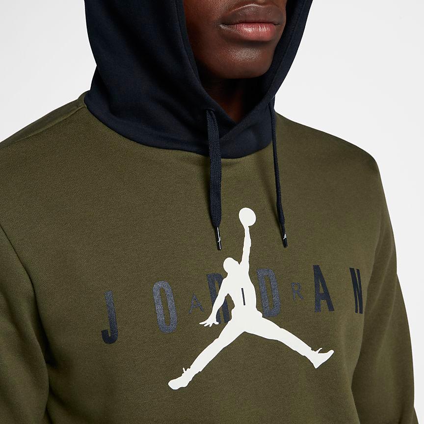 air-jordan-12-olive-chris-paul-hoodie-match-3