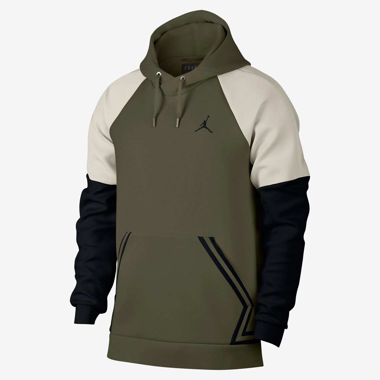 air-jordan-12-olive-chris-paul-hoodie-match-5