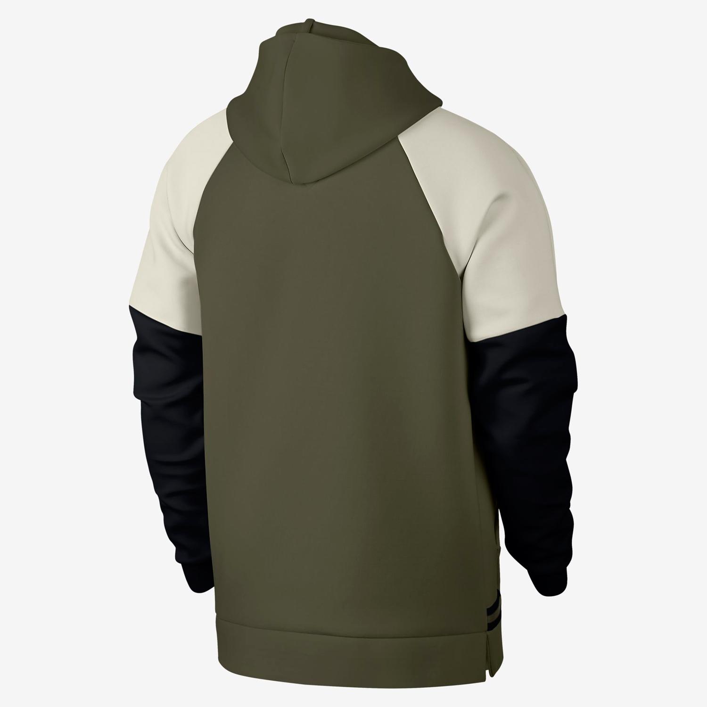 air-jordan-12-olive-chris-paul-hoodie-match-6