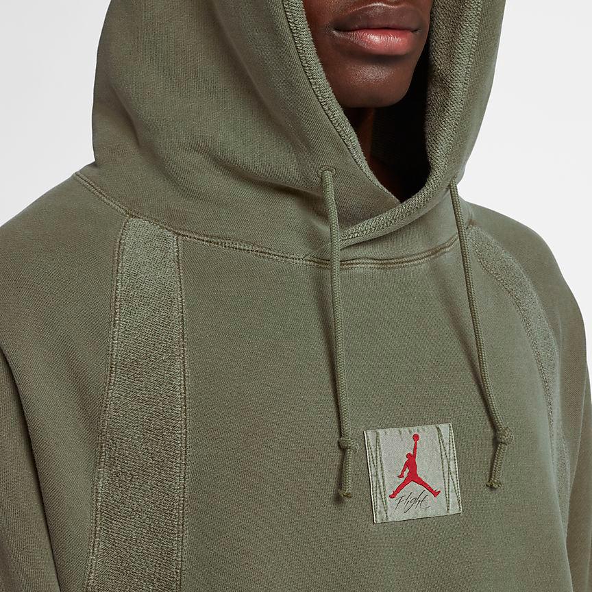 air-jordan-12-olive-chris-paul-hoodie-match-7