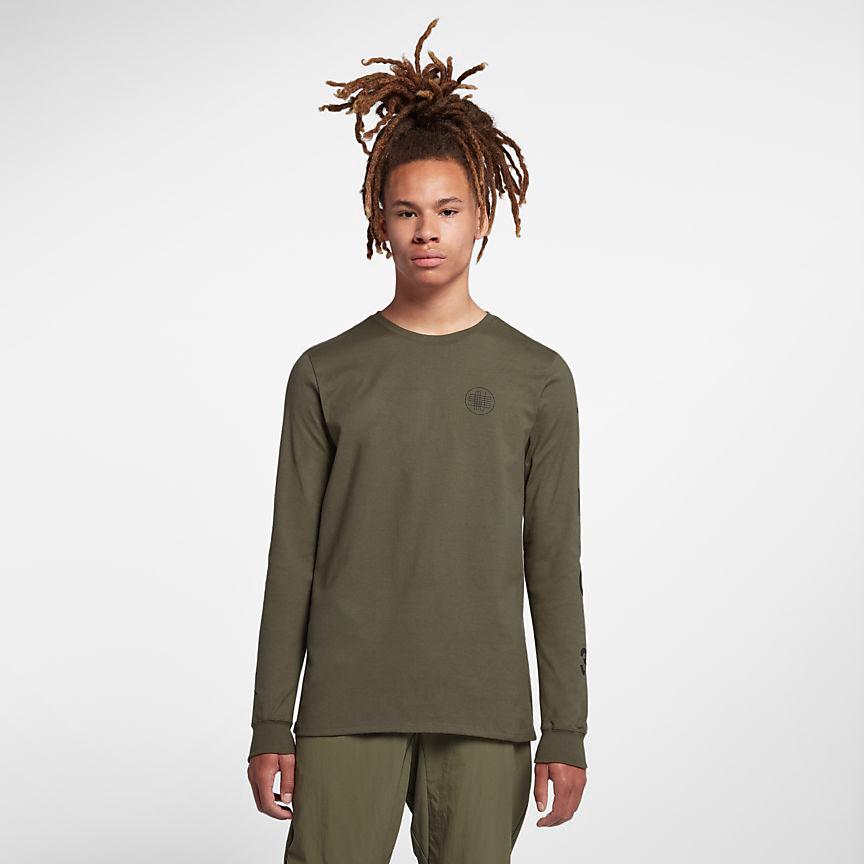air-jordan-12-olive-chris-paul-long-sleeve-shirt-1