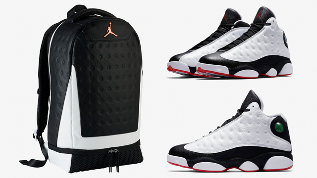 "1871cb9e7ce6c9 Air Jordan 13 ""He Got Game"" x Jordan Retro 13 Backpack"