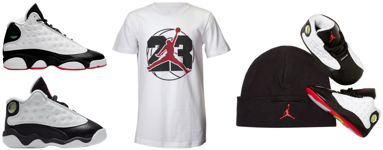 bf7815ec03e Jordan 13 He Got Game Kids Shoes and Shirts | SneakerFits.com