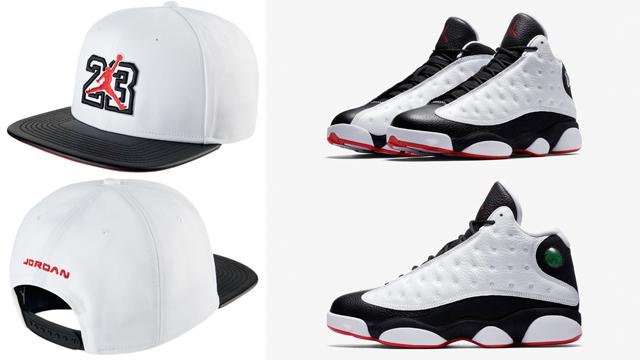 """befb0b4da8b Air Jordan 13 """"He Got Game"""" x Jordan Retro 13 Snapback Cap"""