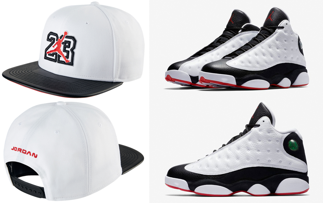 half off bb50b 82f7e Air Jordan 13 He Got Game Snapback Hat | SneakerFits.com