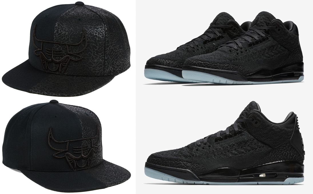 air-jordan-3-flyknit-black-bulls-hat-match