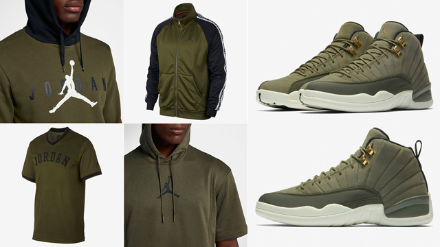 1e79fb5f17b9 apparel-to-match-the-air-jordan-12-olive-