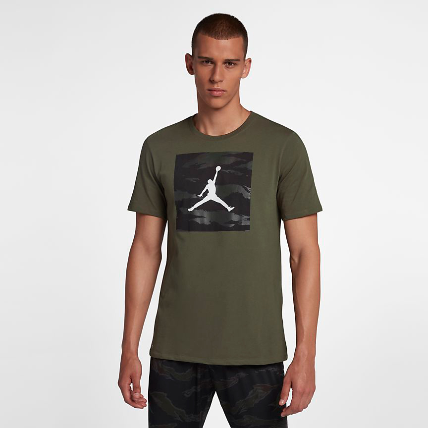 chris-paul-jordan-12-olive-camo-shirt-match-1