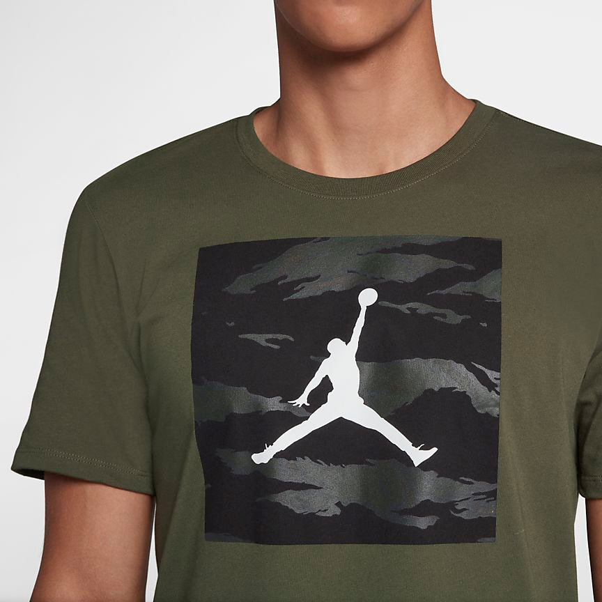 chris-paul-jordan-12-olive-camo-shirt-match-2