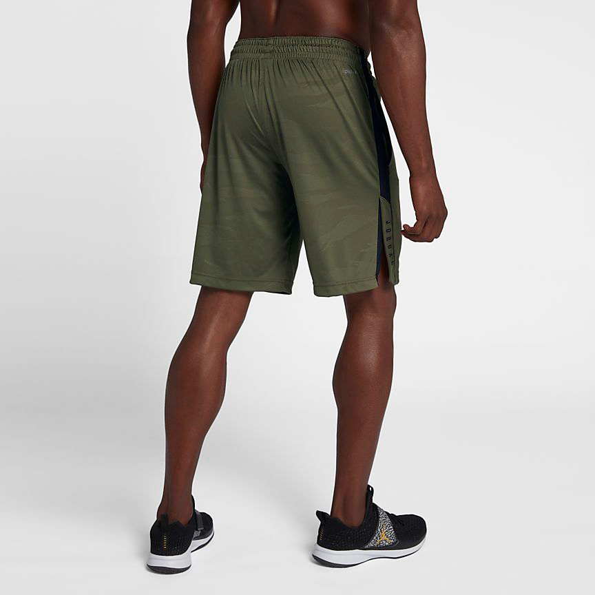 chris-paul-jordan-12-olive-camo-shorts-match-3