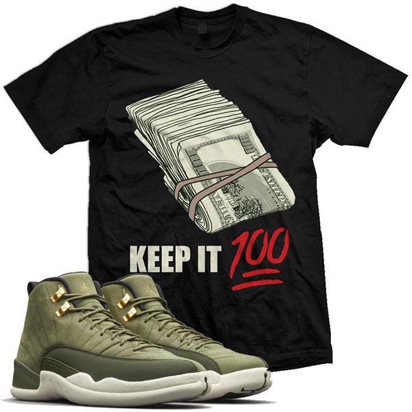 chris-paul-jordan-12-olive-sneaker-shirt-million-dolla-motive-mdm-1