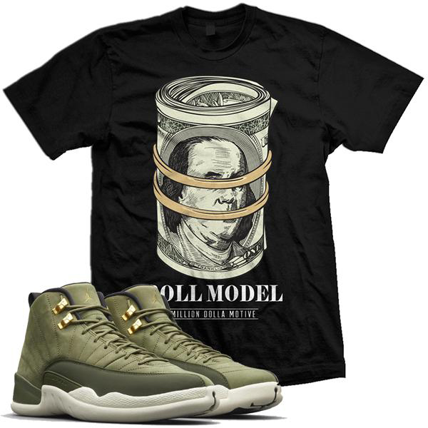 chris-paul-jordan-12-olive-sneaker-shirt-million-dolla-motive-mdm-3