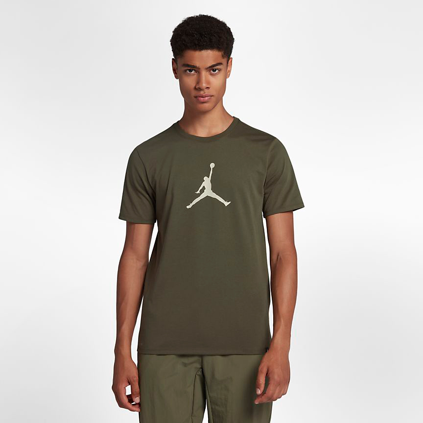 chris-paul-jordan-12-olive-t-shirt-match-1