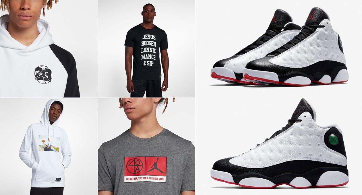 ece88fe20a1 Clothing to Match Jordan 13 He Got Game   SneakerFits.com